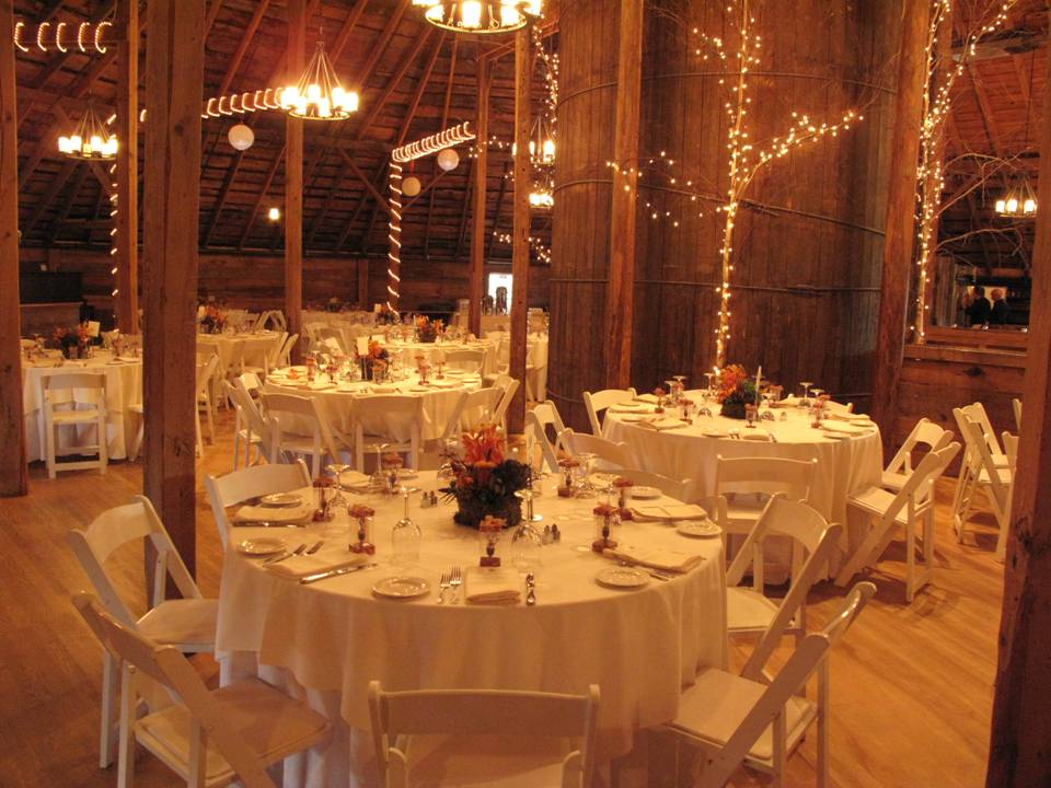 September Wedding At The Round Barn Floral Artistry By
