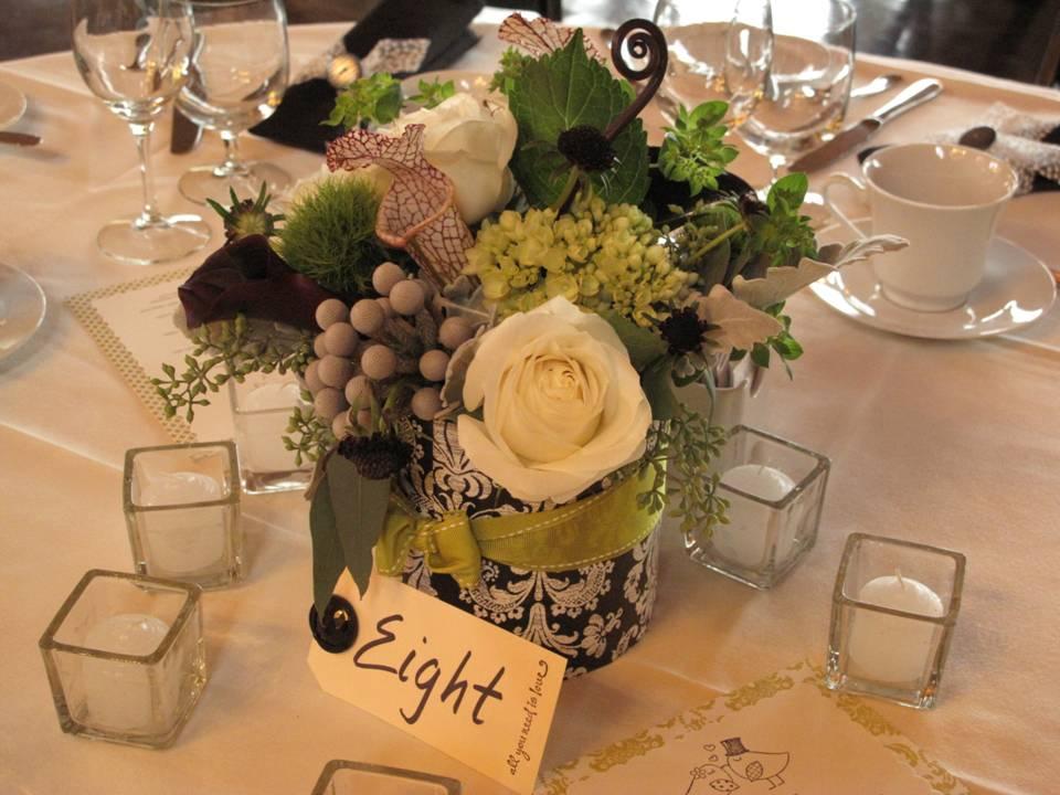 October wedding at The Ponds | Floral Artistry By Alison Ellis