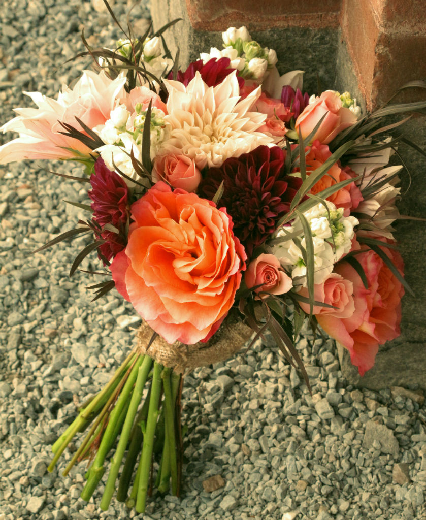 Shelburne Farms Wedding Flowers