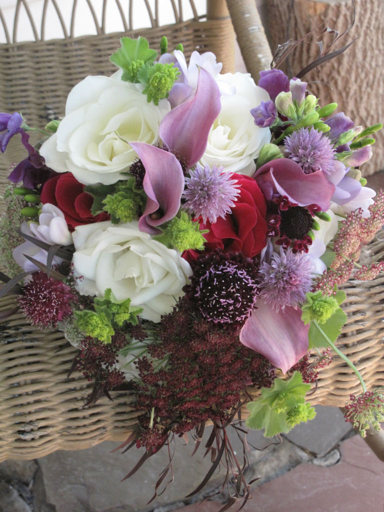 Wedding bouquet, Vermont Wedding, Topnotch Resort & Spa