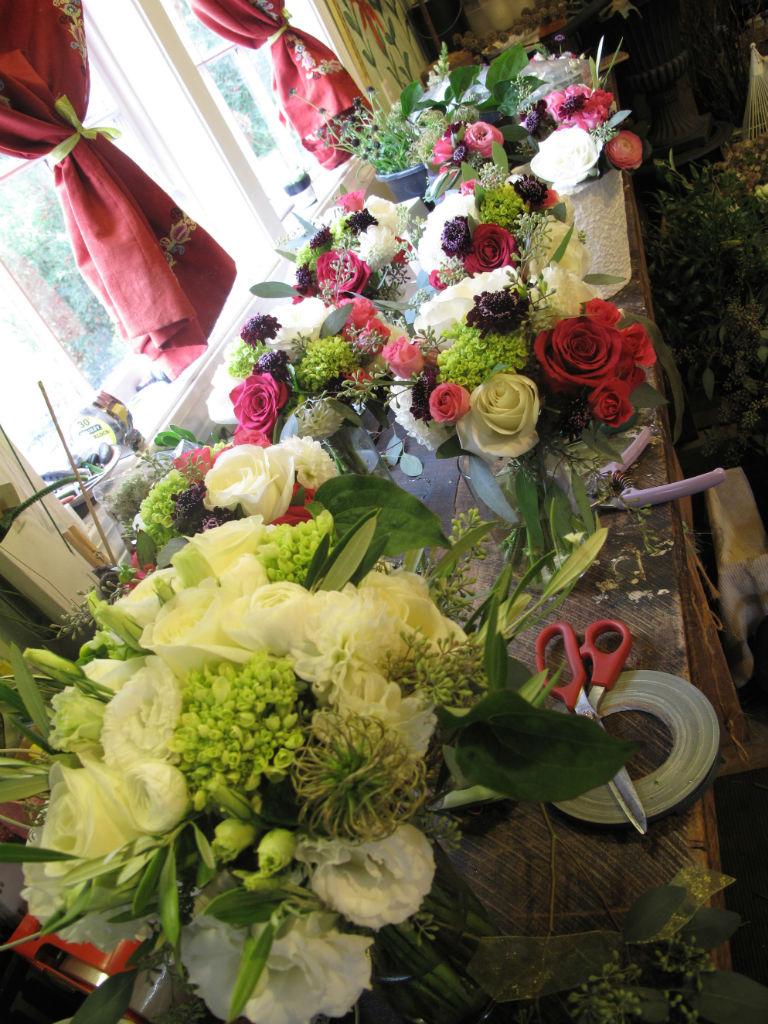 Vermont Wedding Flowers at Topnotch Resort