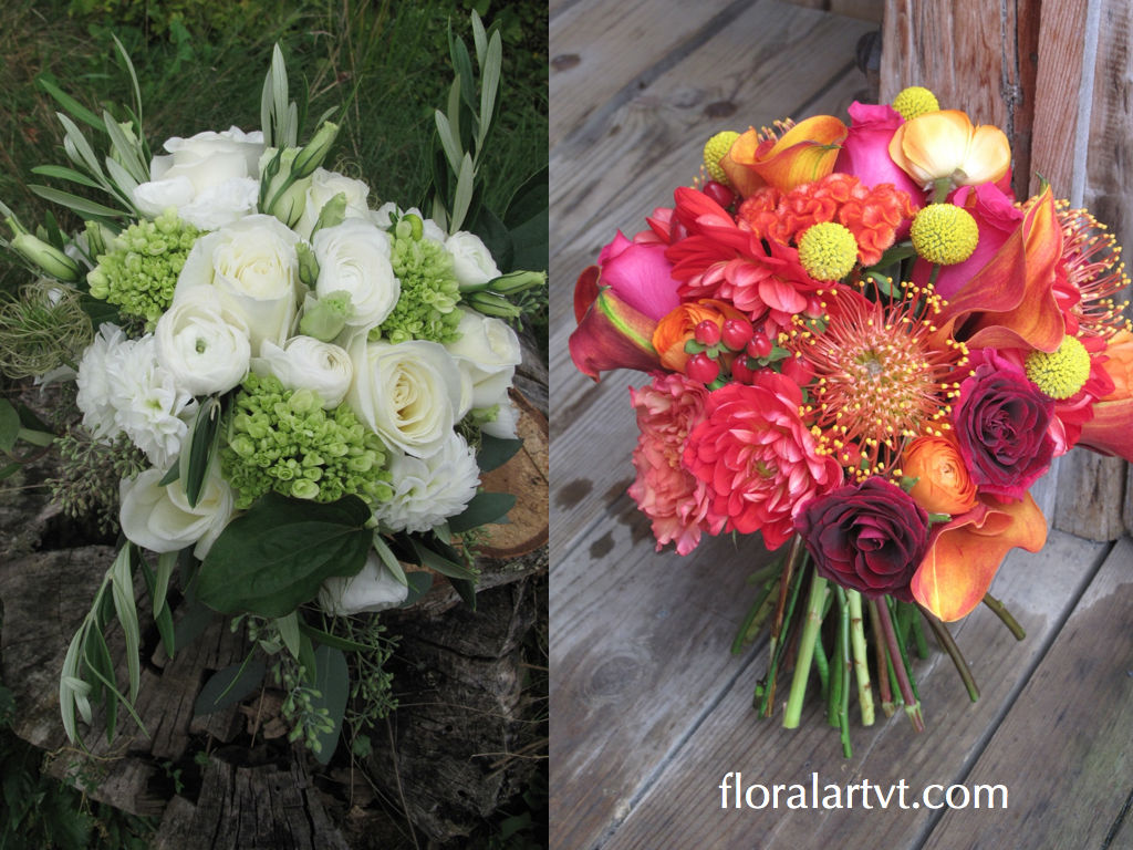 Choosing a bouquet