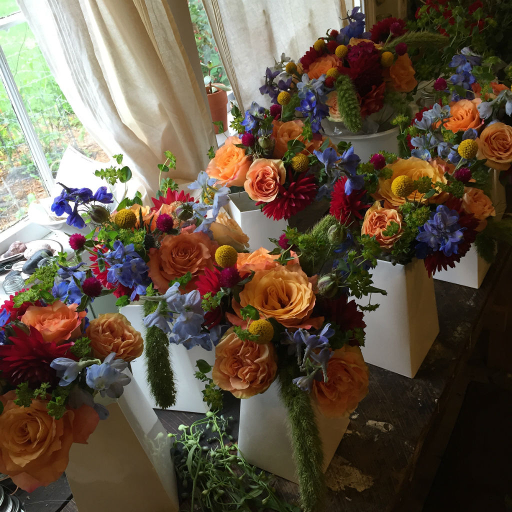 Vermont summer wedding flowers, Floral Artistry