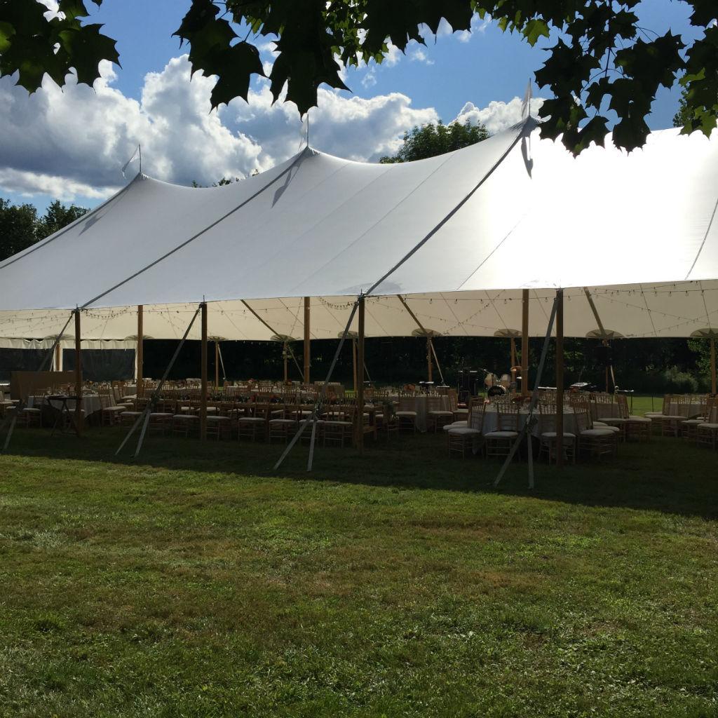 Vermont Tent, outdoor wedding, Vermont wedding