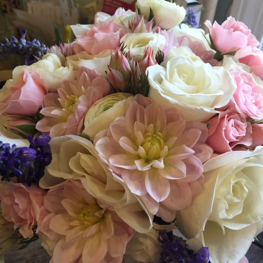 Vermont wedding flowers