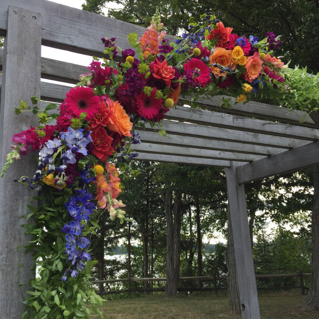 vermont wedding flowers grand isle lake house wedding floral