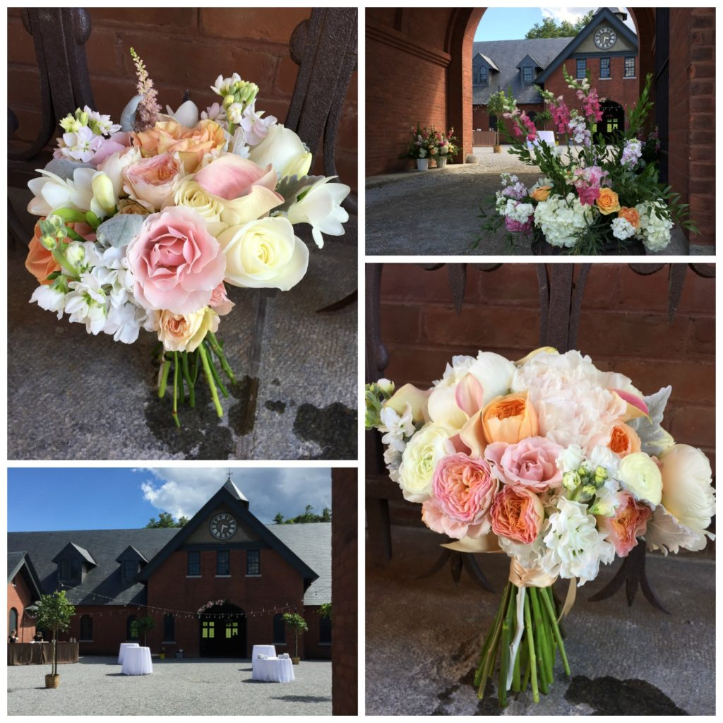 Vermont wedding flowers, Flowers for June Wedding, Coach Barn at Shelburne Farms