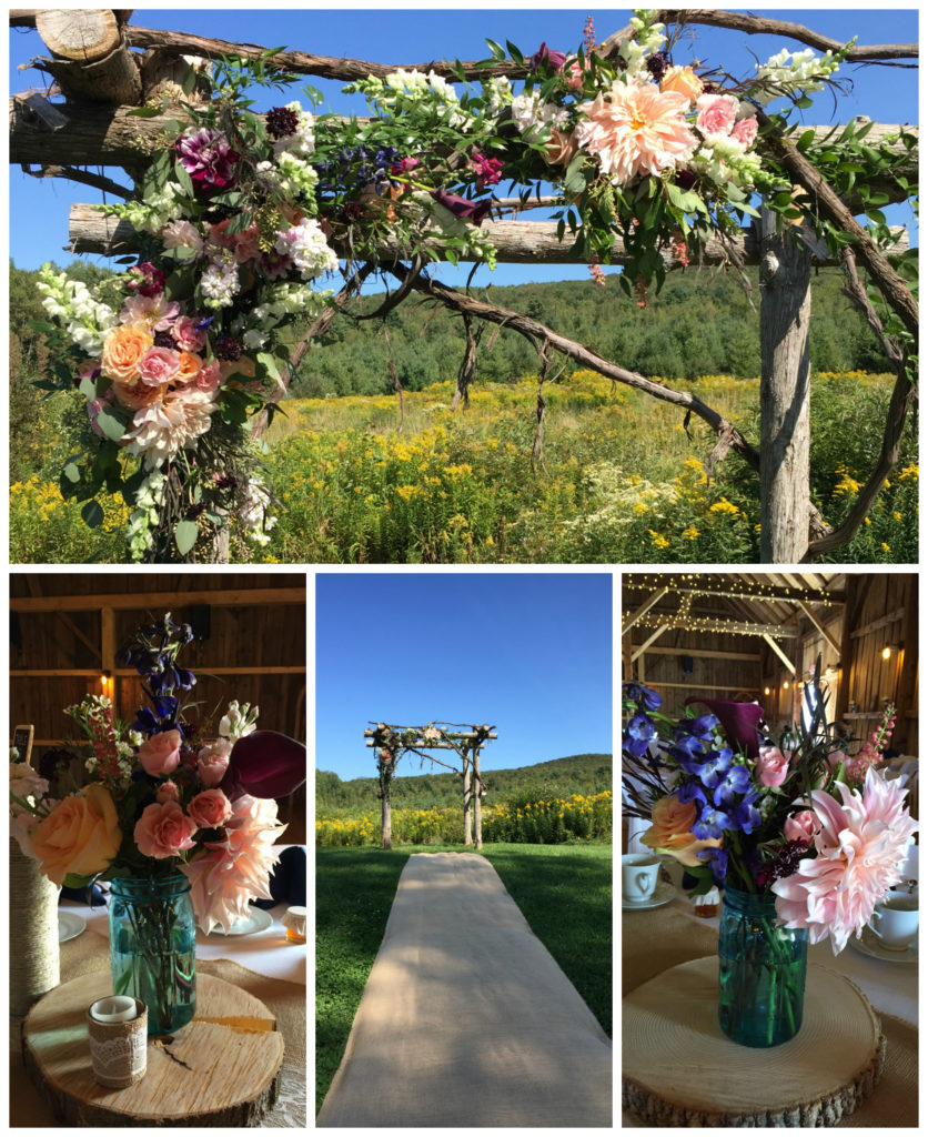 Vermont wedding flowers, Floral Artistry