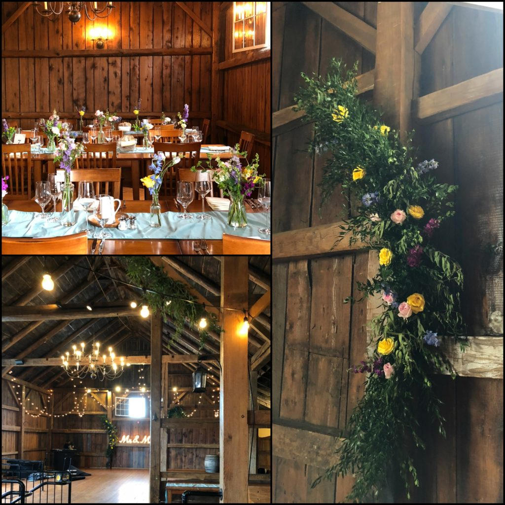 Wedding at Boyden Barn