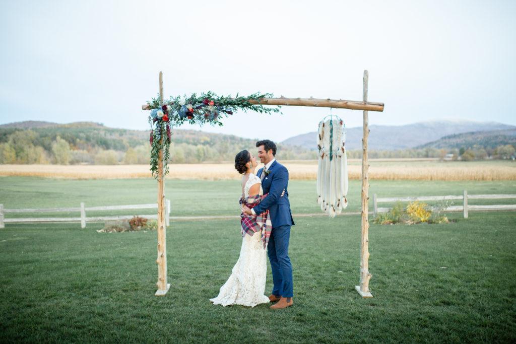 Wedding flowers in Vermont, Boyden Barn Wedding