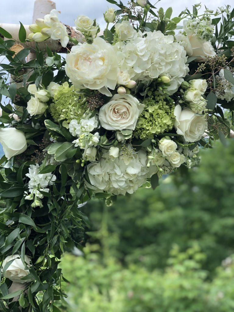 arbor flowers by Alison Ellis